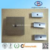 Фабрика ISO магнитов неодимия этапа с отверстием зенковки