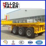 20FT - 48FT Hydraulic Flatbed Container Tipper Trailer