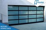 アルミニウムフレームのガラスパネルのガレージのドア