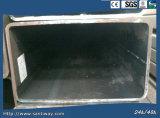 Tubulação galvanizada do quadrado do aço de carbono