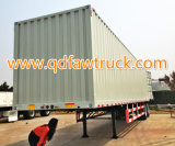 3 Axles Dry Van Semi Trailer (30 toneladas)