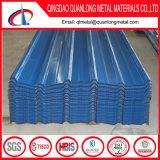 上塗を施してある亜鉛によって波形を付けられる金属の屋根シートを着色しなさい