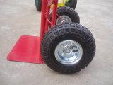 Trole da mão do preço de fábrica com pneumático pneumático