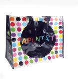 2017년 공장 새로운 디자인에 의하여 박판으로 만들어지는 PP 비 길쌈된 쇼핑 백