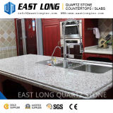 Pierre artificielle de quartz de couleur de granit pour des partie supérieure du comptoir avec la surface Polished