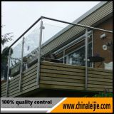 Modern Design Stainless Steel Balcony Glass Railing / Handrail