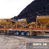 Granite (WL3S1848C100)를 위한 Wl Stone Mobile Cone Crusher Crushing Plant