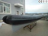 판매 (HFX 580)를 위한 PVC Hypalon 섬유유리 배 형