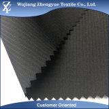 Tela 100% de la chaqueta de shell de la tela escocesa de la memoria del catión del poliester de la calidad 75D