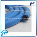Boyau en caoutchouc de Biraded fibre noire/bleue/rouge certifié par CE pour l'eau, air, essence, gaz