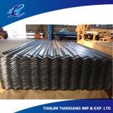 Corrugated Prepainted гальванизированный стальной толь