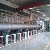 Línea soldada tubo del espiral hueco de acero de la sección del API 3PE Fbe para el gas de agua