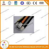 de Ondergrondse Kabel van de Kabel van de Daling van de Dienst van het Aluminium van 1000mcm