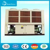 Luftgekühlter industrieller Kühler-Geschwindigkeits-Schrauben-Kühler mit halbhermetischem Schrauben-Kompressor