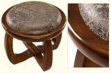 كرسيّ مختبر صلبة خشبيّة مستديرة ([م-إكس2109])
