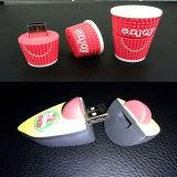 Impulsión del flash del USB del PVC de la aduana de la promoción (GC-P002)