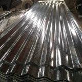 strato d'acciaio galvanizzato del tetto ondulato Dx51d dell'acciaio del metallo di 0.13mm-0.8mm