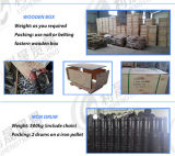 DIN766 Ketens van de Link van het Staal van Galivanized van het ijzer de Korte