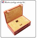 Cadre de mémoire en cuir de luxe d'étalage d'emballage de montre Boite De Montres EL Reloj De Uhrenbox Caixa De Rel&oacute ; Gio (Sy059)