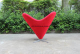 居間のための現代中心の形ファブリック余暇の椅子