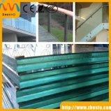 Frameless a gâché/fournisseur stratifié de brame de verres de sûreté de flotteur de construction de balcon