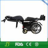 Новая кресло-коляска силы Oudoor электрическая стоящая с светом СИД