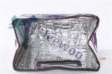 屋外の革トリムが付いている適性によって絶縁される昼食袋のクーラー袋