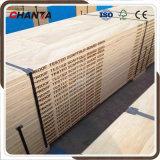 Plein panneau de LVL de pin de Scaffboard pour le marché de Moyen-Orient