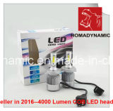2016 Best Seller COB Q2 LED Headlight 8000lumen
