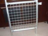 Окунутая после того как разделительная стена Temporar обшивает панелями горячий 2100mm X2400mm она гальванизирована для того чтобы быть 42 микрона