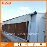 Macchinario automatico dell'azienda avicola di buona qualità con la costruzione di corrispondenza della tettoia della costruzione prefabbricata