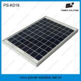 Sistemas cobrando móveis solares de venda quentes K019 do painel solar pioneiro energy-saving do carregador