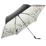 反紫外線日曜日または雨傘の女性3の折る厚化の傘