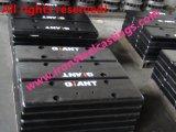 Чугун OEM Gg15 Gg20 большой балансировочный груз противовесу для грузоподъемника/затяжелителя/крана