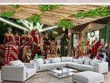 Peinture personnalisée de décoration de Noël, LED Paiting