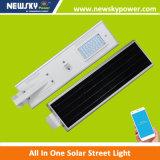 Todos en luces autos de energía solar de un LED