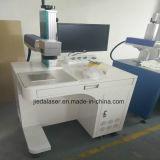 máquina de la marca del laser de la fibra de 20W 30W para el precio plástico Jieda del grabado de los PP del metal