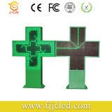 Panneau de signalisation LED programmable hors ligne pour Phmarcy Cross