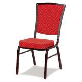 ホテルのレストランの宴会の椅子を食事する現代金属のアルミニウム結婚式
