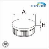 Balustrade d'acier inoxydable ajustant la monture plate pour le tube de 33.7/38.1/42.4/48.3/50.8mm