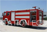 SinoトラックHOWO 6000Lの水漕の消火活動のトラック