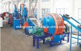 Il pneumatico e la gomma residui riciclano la riga pneumatico della trinciatrice del pneumatico che ricicla la riga