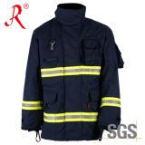Pantalones de lucha contra el fuego reflexivos profesionales (QF-511 B)