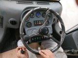 Cargador de la rueda de 3 toneladas transformista y palancas de mando con Cummins Engine Zl936