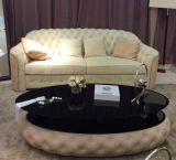 Neue Ankunft Pfosten-Mordern Leder-Sofa-Möbel (B24)