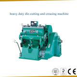 Máquina vincando Ml-1500 e cortando manual resistente