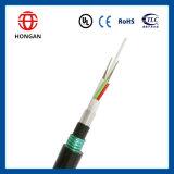 Cable óptico acorazado enterrado 132 fibras para el uso al aire libre G Y F T A53