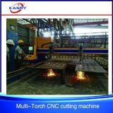 Ferramentas Drilling do furo da estaca de flama do plasma do CNC da placa de aço