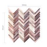 Baumaterialien Wholesale Brown-Fliese-Glasmosaik für Küche-Wände