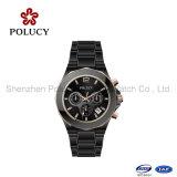 Het unisex- Ceramische Horloge van het Kwarts van het Ontwerp van de Tendens van de Manier met het Goedkope Horloge van de Kleur van de Douane van de Prijs